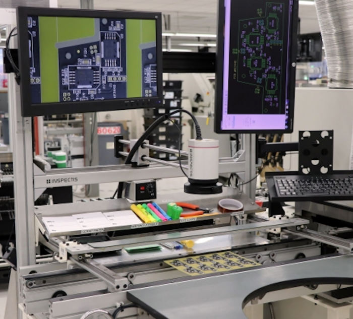 4K inline PCB Inspection