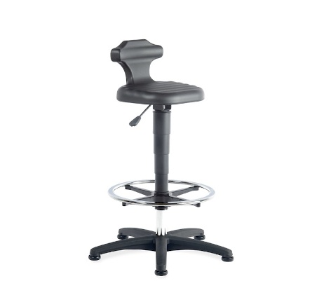 Flex sit-stand chair