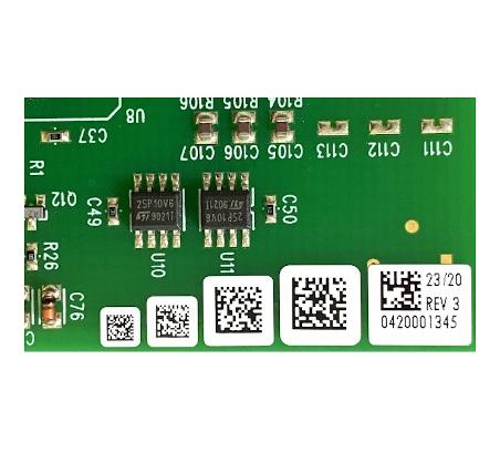 High Temperature PCB Labels